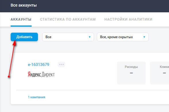 автоматизация рекламы через сервис elama.ru
