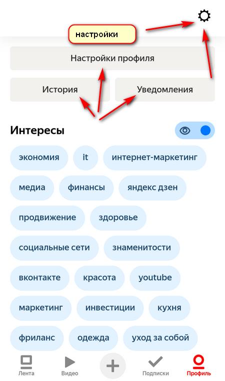 профиль