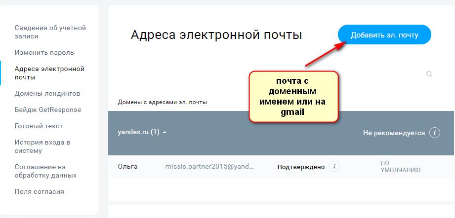 электронная почта DKIM